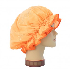 Duschhaube Pop orange, GlamKapz