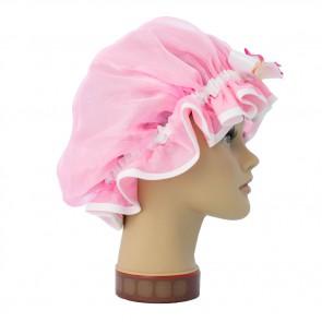 Duschhaube Wachsblume Pink, GlamKapz