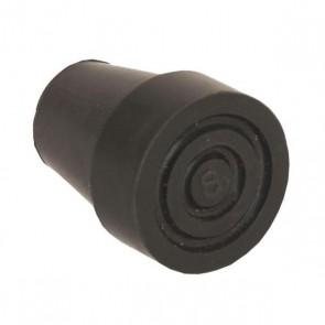 Gummipuffer für Gehstock Switch Sticks, schwarz
