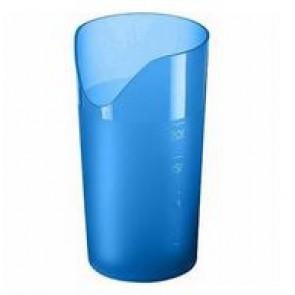 Trinkbecher mit Nasenausschnitt (blau)