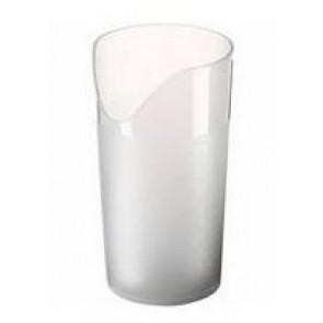 Trinkbecher mit Nasenausschnitt (transparent)